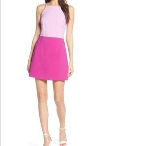 Colorblock Minidress